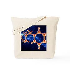 Methamphetamine drug molecule Tote Bag
