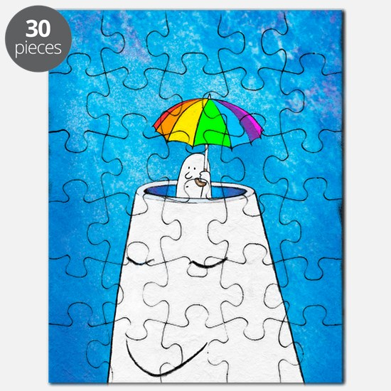 Mental health protection, artwork Puzzle