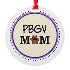 PBGV Dog Mom Ornament