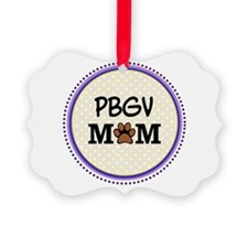 PBGV Dog Mom Ornament