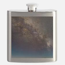 Mauna Kea telescopes and Milky Way Flask