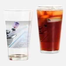 Medical testing Drinking Glass