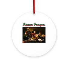 Buona Paqua(Happy Easter) Ornament (Round)