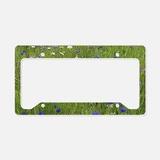Meadow flowers License Plate Holder