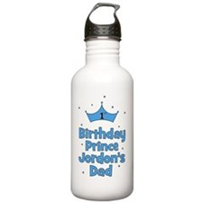 1st Birthday Prince Jo Water Bottle
