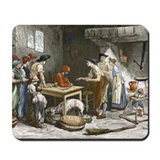 Marquis de Condorcet's last meal Mousepad