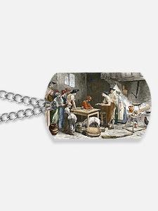 Marquis de Condorcet's last meal Dog Tags