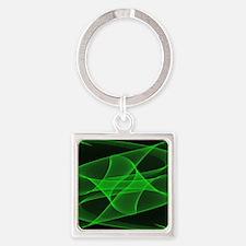 Mathematical model Square Keychain