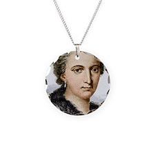 Maria Agnesi, Italian mathem Necklace