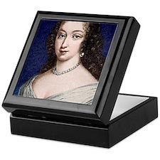 Marguerite de la Sabliere, arts patro Keepsake Box