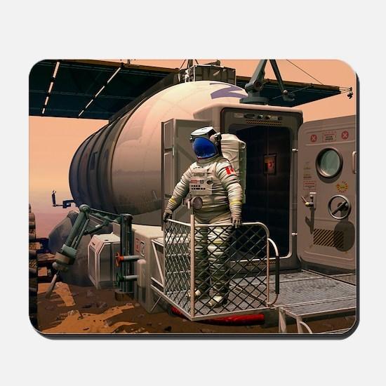 Mars exploration, artwork Mousepad