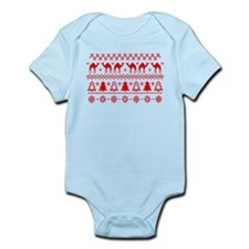 Christmas Hump Day Camel Ugly Sweater Body Suit