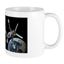 Mars cycler spacecraft, artwork Mug