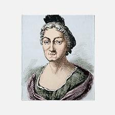 Maria Merian, German naturalist Throw Blanket