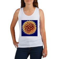 Marigold pollen grain, SEM Women's Tank Top