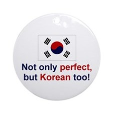 Korean-Perfect Keepsake Ornament