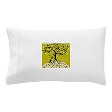 Boston Terrier love Tree of life heart Pillow Case