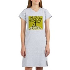 Boston Terrier love Tree of life heart Women's Nig