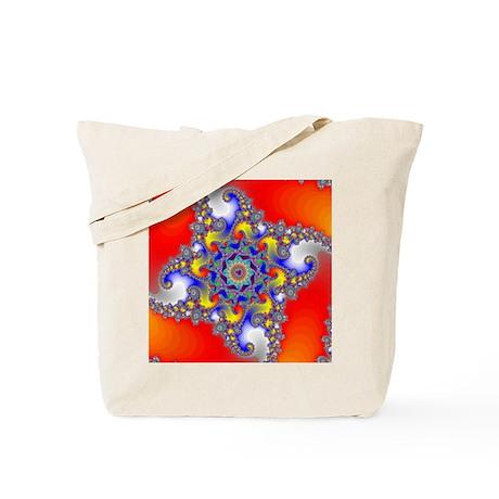 Mandelbrot fractal Tote Bag