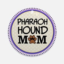 Pharaoh Hound Dog Mom Ornament (Round)