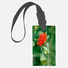 Maltese cross (Lychnis chalcedon Luggage Tag