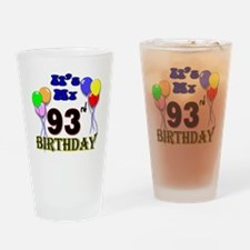93rd birthday Drinking Glass