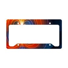 Magnetic field License Plate Holder