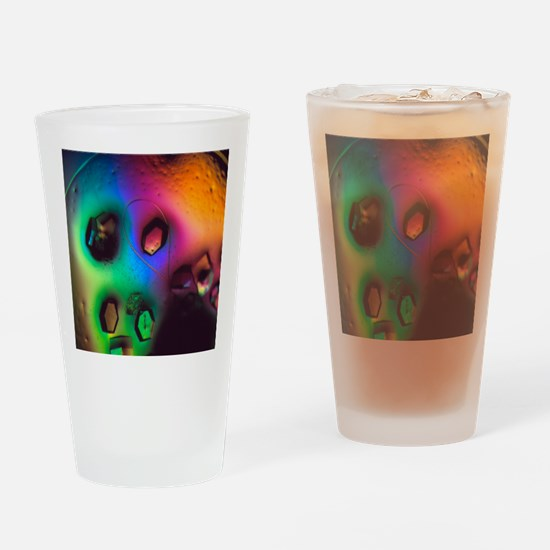 Lysozome protein crystals Drinking Glass