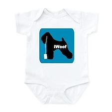 iWoof Wheaten Infant Bodysuit