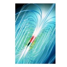 Magnetic field Postcards (Package of 8)