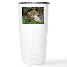 Lynx Thermos Mug