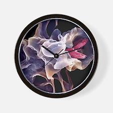 Macrophage engulfing TB bacteria, SEM Wall Clock