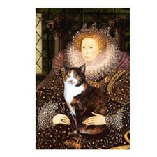 The Queen's Calico Cat (#1) Postcards (Package of