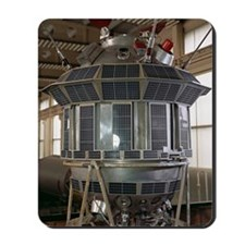 Luna 3 spacecraft model Mousepad