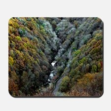 Lynmouth Valley in autumn Mousepad
