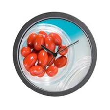 Lutein supplement capsules Wall Clock
