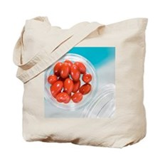 Lutein supplement capsules Tote Bag