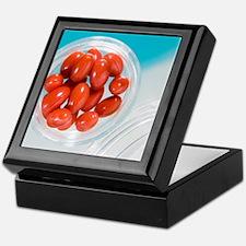 Lutein supplement capsules Keepsake Box