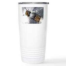 Lunar tug and lander, artwork Travel Mug