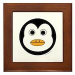 Percy the Penguin Framed Tile