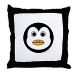 Percy the Penguin Throw Pillow