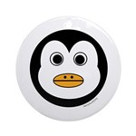 Percy the Penguin Ornament (Round)