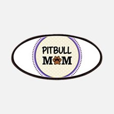 Pitbull Dog Mom Patches