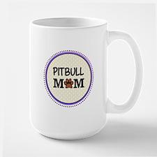 Pitbull Dog Mom Mugs