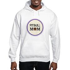 Pitbull Dog Mom Hoodie