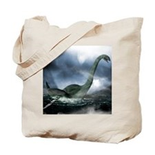 Loch Ness monster, artwork Tote Bag