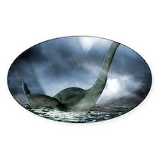 Loch Ness monster, artwork Decal