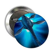 """Loch Ness monster, artwork 2.25"""" Button"""