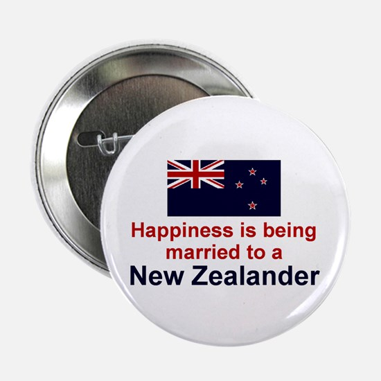 New Zealand-Happily Married Button