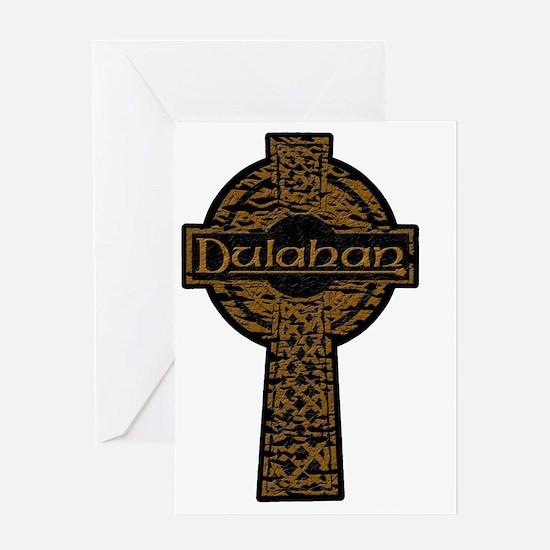 Dulahan - Faded Cross Greeting Card